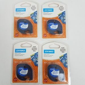 DYMO 91331 LetraTag Labeling Tape Set of 4